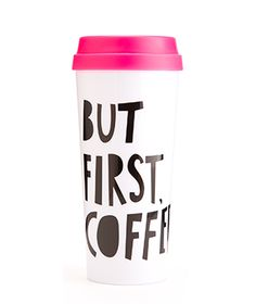 But First Coffee Thermal Mug | Bando But First Coffee Thermal