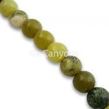 8mm Yellow Turquoise Stone Beads   Price : $3.99