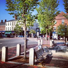 Beautiful afternoon in nearby Portsmouth, NH.