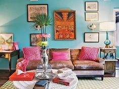 Our Color Crush of the Month: Bouganvillea Pink. We'll tell you the best ways to add this fun pop of color to your home!