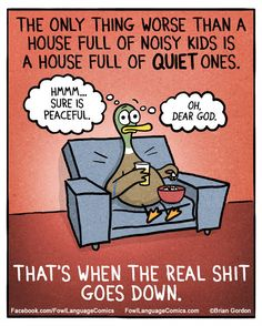 Yep, these comics hilariously sum up parenthood