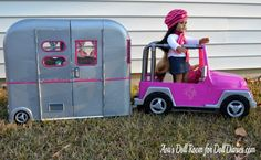 I can't wait to show Hannah this one - Our Generation Seeing You Camper Makeover