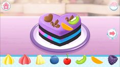 Fun, Play & Learn With Care Bears Games - Fun Games For Kids Cooking Games For Kids, Fun Games For Kids, Bears Game, Care Bears, Birthday Cake, Make It Yourself, Play, Learning, Desserts