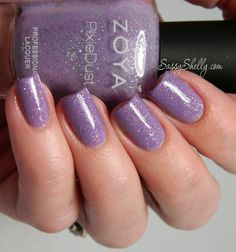 Zoya PixieDust ~ Stevie with topcoat | Sassy Shelly