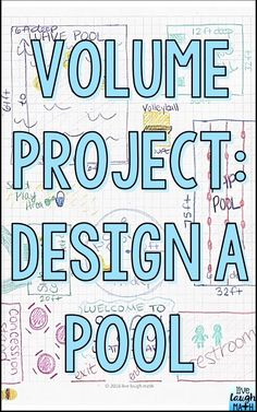 Volume Project- Fun end of year math project or anytime of the year math enrichment for volume! Aligned to common core volume standards.