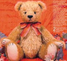 20 Free Patterns to Sew Your Own Teddy Bears: Woodland Wonder - Chester (PDF File)