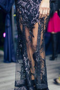 CRISTALLINI #BlackDress #EveningDress #Sequins