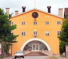 District court house in Sölvesborg - Asplund - Photographer: Wigulf
