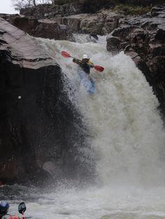 Right-Angle Falls at Glen Etive, Scotland