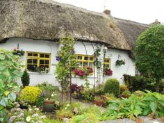 Thatched Roof Cottage Village