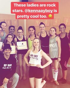 While part of team LA is in California @audrabryant and @kennaayboy were hosting a #popupintensive on Long Island. We heard you dancers killed it :) thanks for having us and see you soon #HappyInternationalDanceDay #teaching #maryannsdancestudio