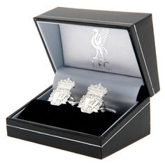 Sterling Silver Cufflinks Approx X In A Gift Box Official Licensed Product Product model: Liverpool Fc Gifts, Sterling Silver Cufflinks, Box, Model, Products, Snare Drum, Scale Model, Models