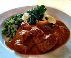 Creamy beef curry