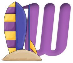 CH.B *✿* ALPHABET SURFEUR