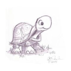 Drawing of an animal cartoon animal sketch cute turtle drawings in drawings cute animal drawings turtle Cute Turtle Drawings, Turtle Sketch, Cute Animal Drawings, Cute Drawings, Drawing Sketches, Pencil Drawings, Drawing Ideas, Sketching, Easy Turtle Drawing