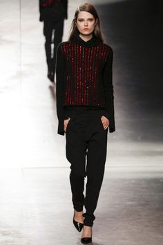 Anthony Vaccarello ready-to-wear Fall/Winter 2014-2015