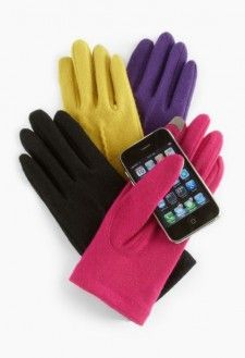 smart phone gloves...so smart!