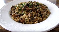 How to Make Mushroom Risotto King Oyster Mushroom Recipe, Mushroom Recipes, Mushroom Risotto, Risotto Recipes, Good Foods To Eat, Garlic Shrimp, Black Eyed Peas, Oysters, Stuffed Mushrooms