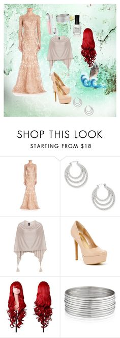 """""""Ariel look 3"""" by gwyn3704 ❤ liked on Polyvore featuring Notte by Marchesa, Steve Madden, Samoon, Jessica Simpson, West Coast Jewelry and Charlotte Russe"""