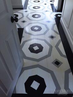 Unique Flooring, Stone Flooring, Floor Design, House Design, Interior Ceiling Design, Painted Wood Floors, Floor Layout, Blown Glass Art, Mosaic Tiles