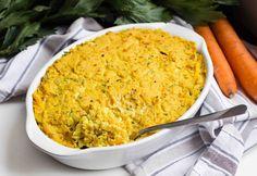Gemüseauflauf Rezept mit Hirse - vegan & glutenfrei