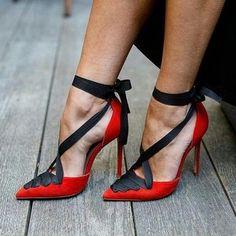 63.99 ~ Lace-Up Red Women s Stiletto Heels  stiletto  shoes  heels   e439c5dc3183
