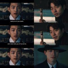 goblin,  grim reaper, gong yoo, lee dong wook, kdrama, korean drama