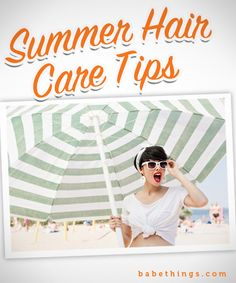 Summer Hair Extension Care Tips
