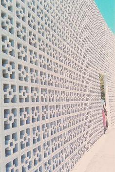 latticed wall