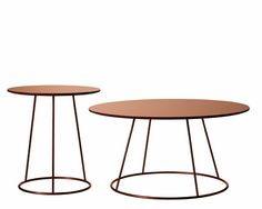 Mjölk : Breeze copper table by Monica Forster Steel Furniture, Table Furniture, Furniture Design, Copper Furniture, St Honoré, Coach Purses Outlet, Cheap Coach Handbags, Copper Table, Low Tables
