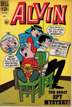 Alvin and the Chipmunks 15 June 1966 Gold Key Comics Comic Books For Sale, Old Comic Books, Comic Book Covers, My Books, Old Comics, Vintage Comics, Sing Animation, Comic Book Companies, Alvin And The Chipmunks