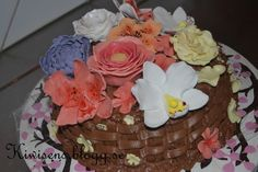 -Flowerbasket cake