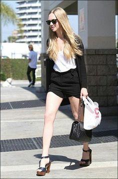 Amanda's casual look