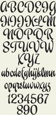 Modelo caligrafía