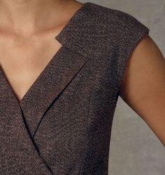 Vogue Patterns Sewing Pattern Misses' Surplice Dress Couture Details, Fashion Details, Fashion Design, Vogue Patterns, Clothing Patterns, Dress Patterns, Diy Mode, Surplice Dress, Mode Outfits