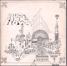 """Pink Floyd, Relics compilation album,1971. Included the Syd Barrett-era singles """"Arnold Layne"""" and """"See Emily Play,"""" as well as """"Interstellar Overdrive"""" and """"Bike"""" from The Piper at the Gates of Dawn."""