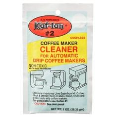 Best Reviews KAF-TAN #2 Coffeemaker Cleaner/De-limer, 1 Ounce Bottle for Best Buy.    Read More Reviews Click On Link: http://www.amazon.com/gp/product/B00032IHGO/?tag=hdtv0a1-20