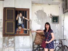 Penang Armenian Art Street Mural Art, Street Art, Shirt Dress, Dresses, Fashion, Vestidos, Moda, Wall Art, Shirtdress