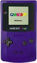 Ahh the purple GAMEBOY... got it one Christmas... I was so excited! :)