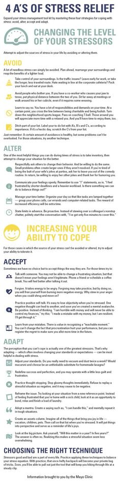 Really good tips for #stress relief!