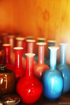 single bud vases.