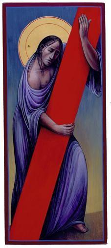 Station 2: Jesus Takes Up His Cross | Artist: John Giuliani