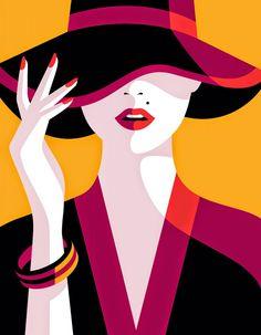 Malika Favre: Illustrations full of color and simplicity!- Malika Favre: Ilustraciones llenas de color y simpleza! Malika Favre: Illustrations full of color and simplicity! Arte Pop, Malika Fabre, Vogue Japan, Inspiration Art, Art Graphique, Grafik Design, Vector Art, Hat Vector, Illustrators
