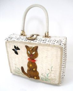 Image result for princess charming wicker purse lucite handle