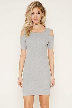 Rehab Open-Shoulder Dress