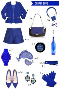 Cobalt Blue Style FInds | Everly So