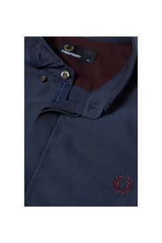 Fred Perry - Concealed Placket Oxford Shirt French Navy