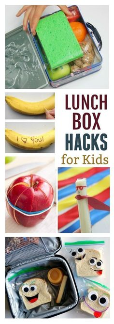 30 LUNCH BOX HACKS & IDEAS FOR KIDS.  These are genius!! #hacksforkids #lunchboxideas #parentinghacks #schoollunch