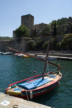 Traditional Catalan Boat - Languedoc-Roussillon, France