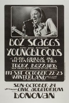 Boz Scaggs, The Youngbloods, Flash Cadillac